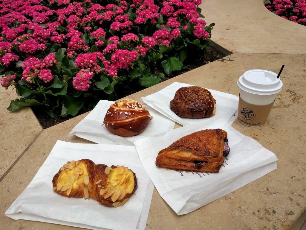 Boston Eataly breakfast pastries
