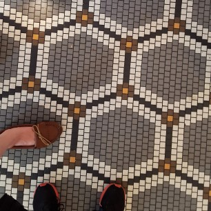 Boston Tatte floor