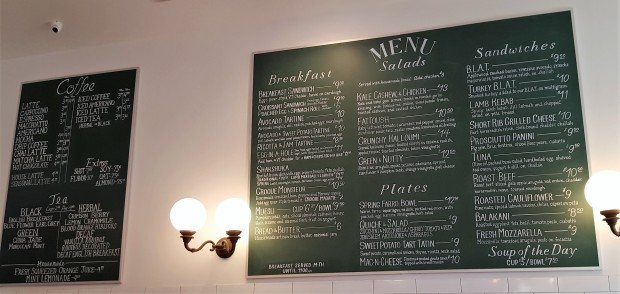 Boston Tatte menu