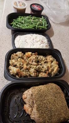 thanksgiving spread 2
