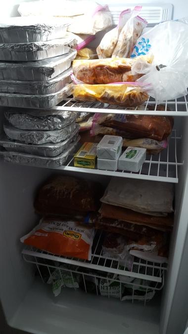 big full freezer