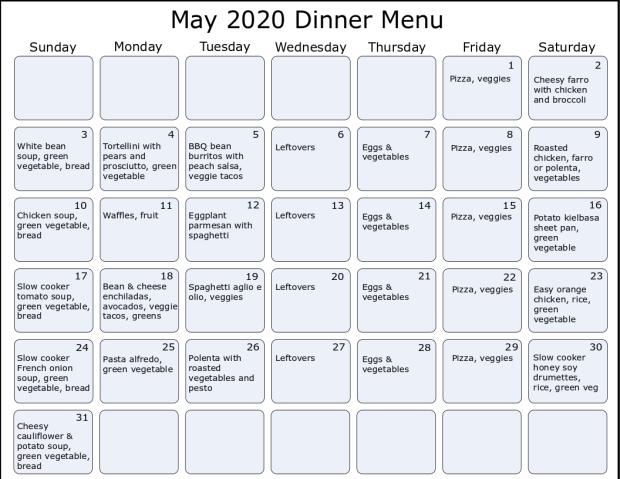 may2020 menu